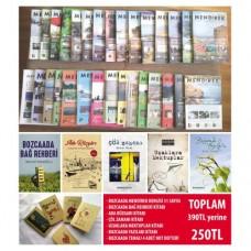 Bozcaada Dergisi ve Kitap Seti (Kargo dahil)