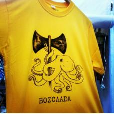 Bozcaada Tişörtü (Ahtapot)